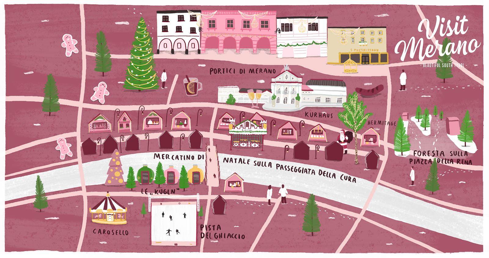 Villaggi Di Natale 2021.Il Mercatino Di Natale Di Merano 2020 2021 Visitmerano
